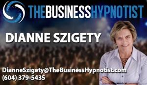 Business Hypnotist Card Template - Dianne Szigety copy