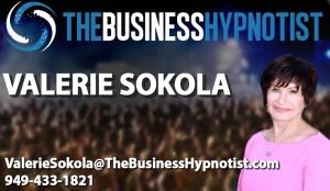 Business Hypnotist Card Template Valerie Sokola