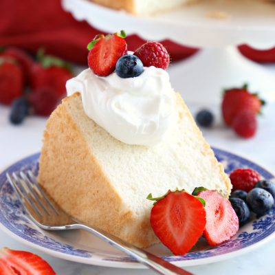 No Fail Homemade Angel Food Cake - The Busy Baker
