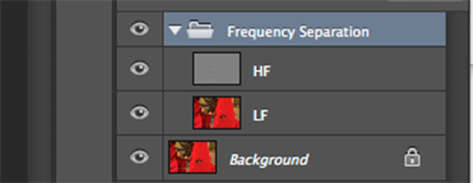 Frequency Separation Retouching Your Portraits