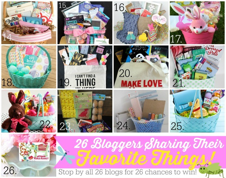 26 Bloggers share their favorite things