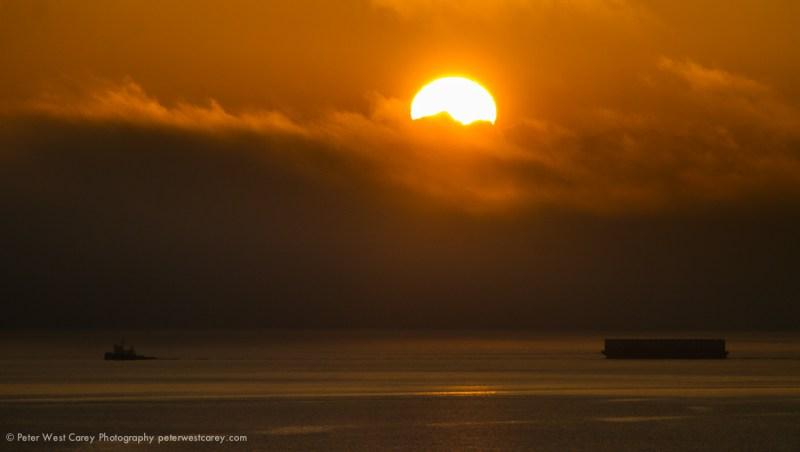 Tugboat Under The Sun