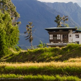 Traditional Bhutanese Home, Bhutan