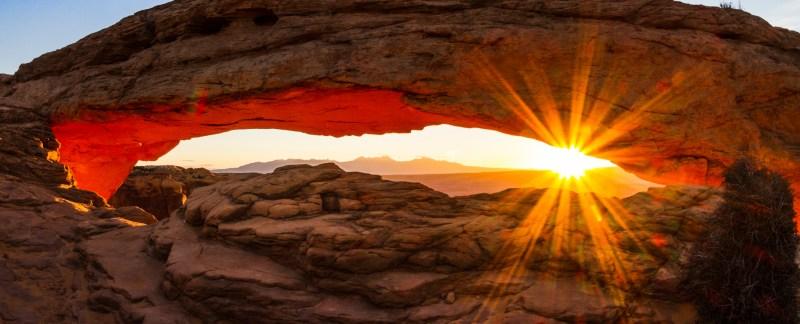 Sunrise At Mesa Arch II, Canyonlands National Park, Utah, USA, N