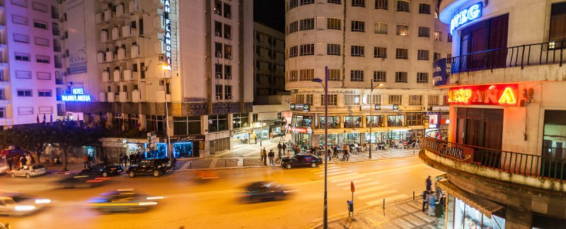 Tangier At Night