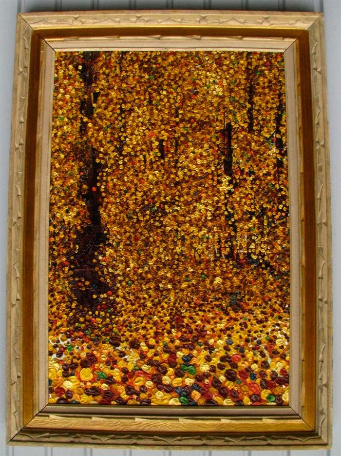 Libby Lynn - Equinox - Oil on canvas - 32 x 44 - framed 650.00