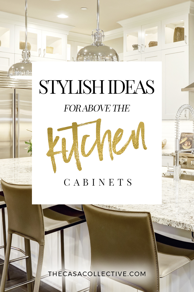 Large Of Kitchen Decor Above Cabinets