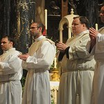 Five 'young, eager' men ordained priests for archdiocese