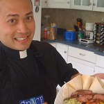 Cooking priest makes NFP sizzle