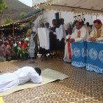In Kenya, Bishop Piché ordains deacon, confirms