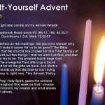 Advent beckons us to wait expectantly, just like grandmother