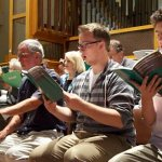 Singers of all ages drawn to Catholic chorale