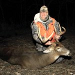 Finally! Surprise comes in final minutes of deer season