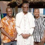 Local priests visit Ghana to attend ordination