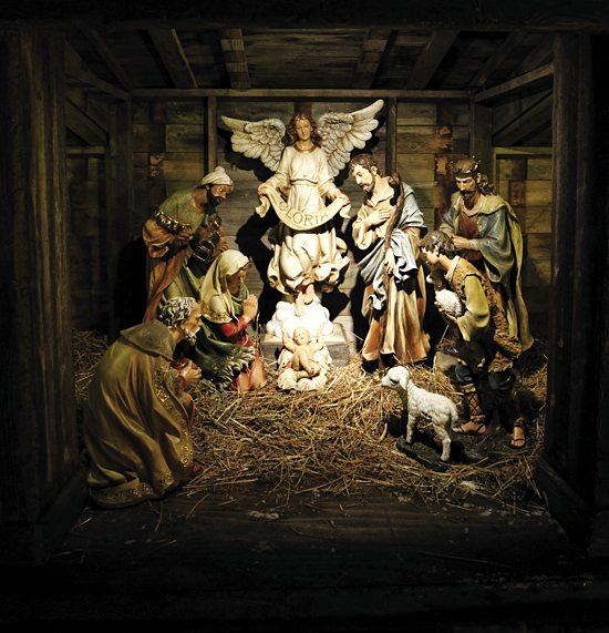 Nativity scene at St. Paul Seminary. Dave Hrbacek / The Catholic Spirit