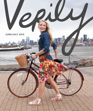 "This is the debut cover of ""Verily,"" a magazine and website produced by five young Catholic women. CNS photo/ courtesy Verily"