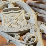 Woodcarver's faith, talents go into Cozzens' crosier