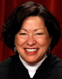 U.S. Supreme Court Justice Sonia Sotomayor issued an injunction Dec. 31 blocking for some Catholic entities enforcement of provisions of the Affordable Care Act that require employers to provide health insurance coverage for contraceptives. CNS photo/Larry Downing, Reuters