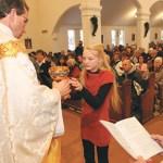 Blessed Sacrament parishioners bid farewell to church