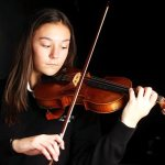 Teen inventor deems violin a healing instrument