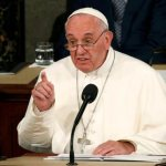Sainthood sometimes includes biting your tongue, pope says