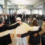 For 'Mercy Friday' initiative, pope visits young addicts at rehab center