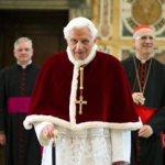Retired pope says aging brings intense prayer, awareness of judgment