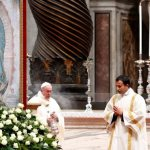 Give flesh to the Gospel like Mary did, pope says on Guadalupe feast