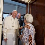 Pope goes door to door blessing homes