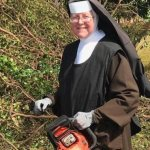 Carmelite sister cleans up after Irma with a chainsaw, becomes sensation