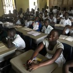 Our Lady of Grace School donates desks to Ghana schools