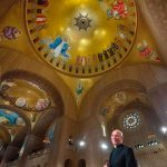 Shrine rector sees Trinity Dome Mosaic as work of art, work of faith