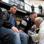 Jesus does not give up on anyone, pope tells prisoners