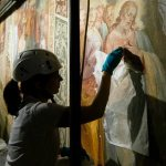 Dark to light: Buried under scaffolding, Holy Stairs set for resurrection