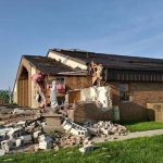 Tornadoes damage Ohio community, church