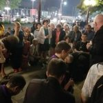 Prayers greet people attending so-called black mass in Canadian capital