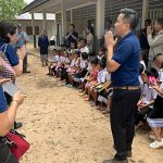 Local Catholics join archbishop for CRS trip to Laos, Cambodia