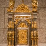 Tabernacles inside and outside of church