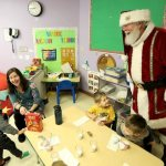 Epiphany parishioner brings faith, fun to his role as Santa