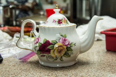 Lovely floral tea pot