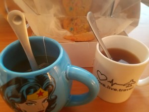 Nothing like cookies, tea and girlfriend time