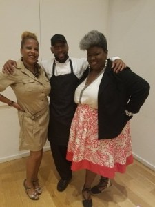 #Dynamic Duo...Culinary Vegg Out, Pastry Chef Darrell of Twelve Eighty