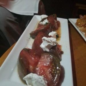 Heirloom Tomato Salad at Krog Bar