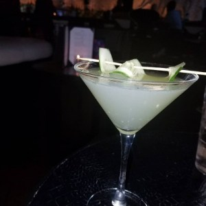 My fav drink at STK ... The cucumber stiletto