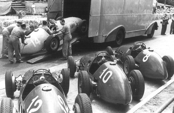 1952 French GP - Ferrari Team