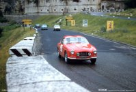 Fiat Zagato at the Mille Miglia, 1958