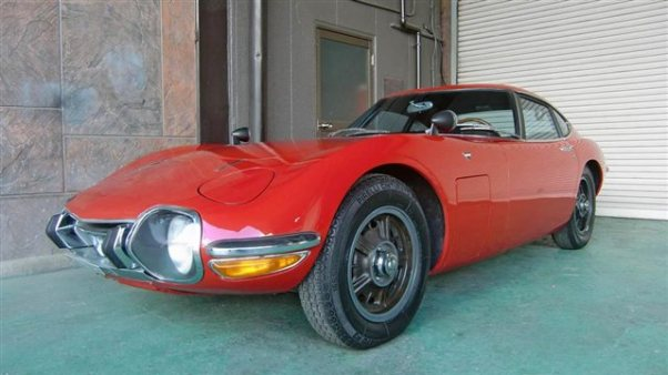 1968 Toyota 2000GT for sale at Symbolic Motors