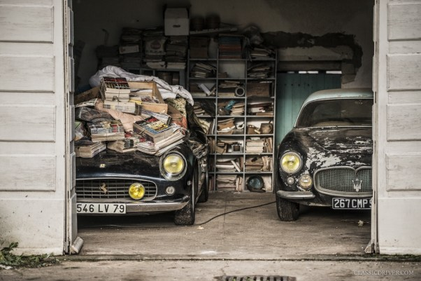 Ferrari 250 SWB and Maserati A6G 2000 Barn Find