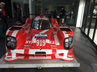 Porsche 919 at Porsche Minneapolis