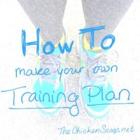 How To Make a Training Plan